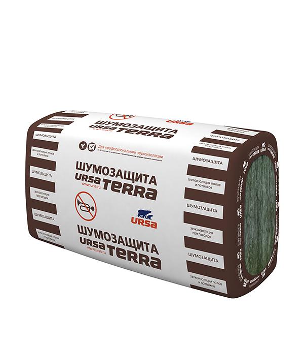 Утеплитель Ursa Terra Шумозащита 1000х610х100 мм 3.05 кв.м утеплитель лайт 6250х1200х50 мм урса ursa