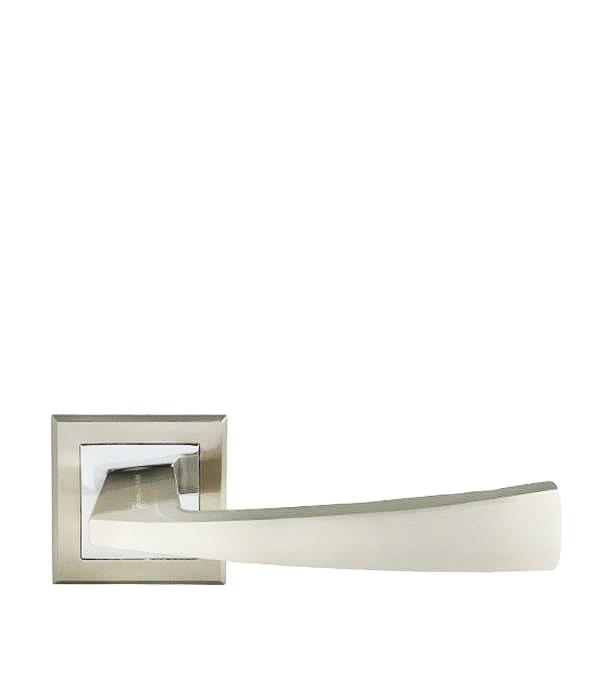 где купить Дверная ручка Palladium City A Lazio SN матовый никель дешево