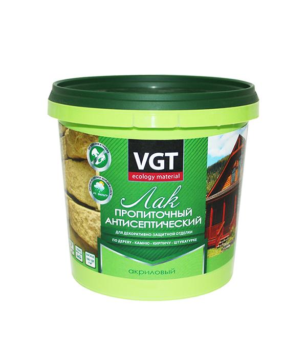 Лак антисептик акриловый VGT сосна 0,9 кг