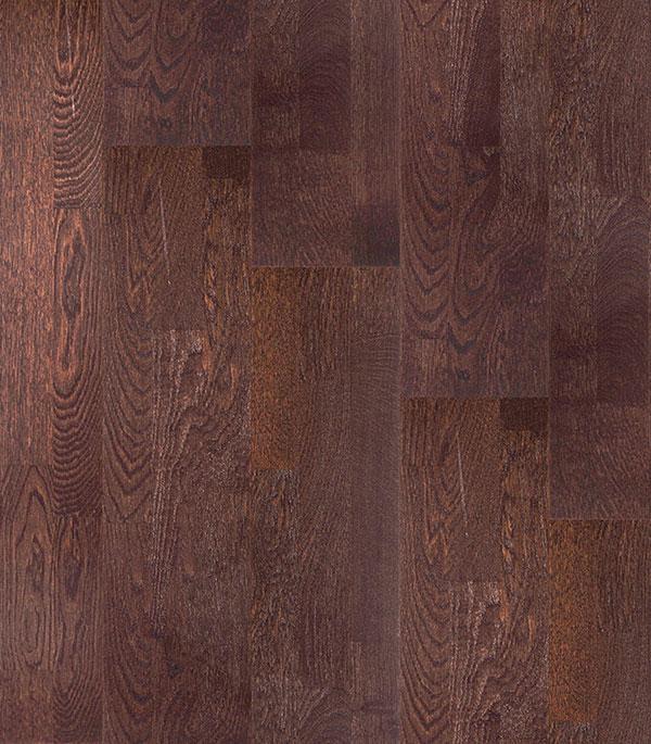 Паркетная доска POLARWOOD Дуб Дарк Браун 3П лак цвета венге 3,41 кв.м. 14мм