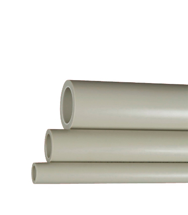 Труба полипропиленовая 32х2000 мм, PN 20 FV-PLAST серая  труба полипропиленовая 25х2000 мм pn 20 серая