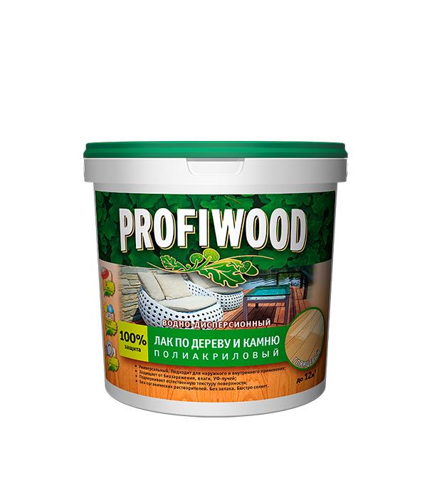 Лак по дереву и камню Profiwood ВД глянцевый 0,9 кг