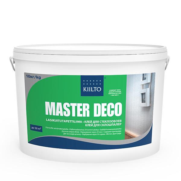 Клей Киилто Мастер Деко для стеклообоев 10 кг (готовый)