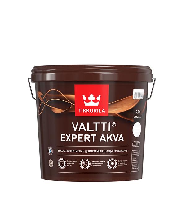 Антисептик Valtti Expert Akva тик Тиккурила 2,7 л лак для обработки сучков oksalakka тиккурила 0 33 л