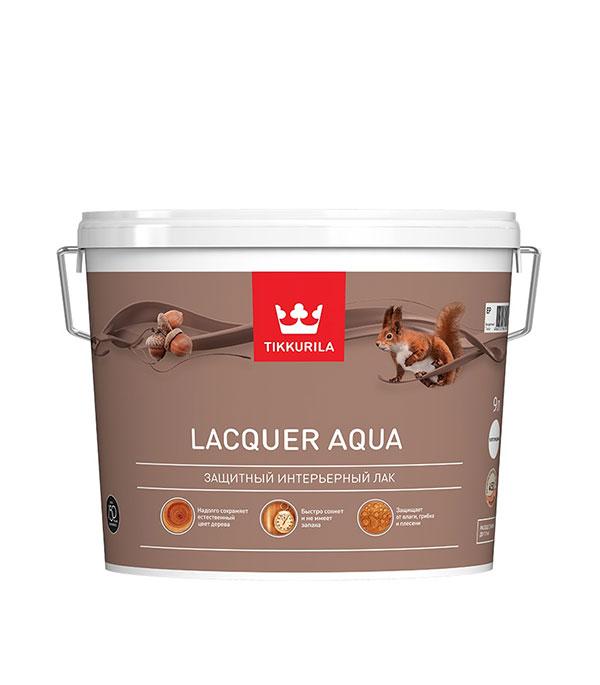Лак водоразбавляемый Tikkurila Lacquer Aqua основа EP матовый 9 л лак водоразбавляемый tikkurila paneeli assa основа ep полуматовый 9 л