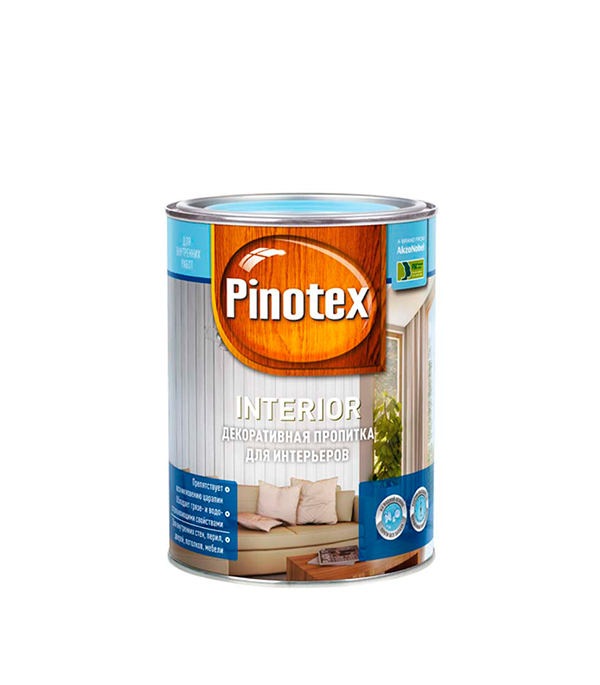 Пинотекс Interior декоративное средство 1 л