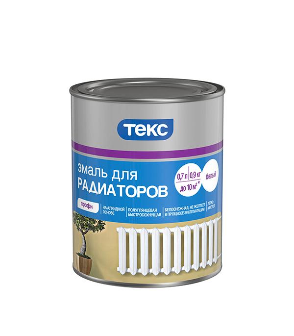 Эмаль для радиаторов алкидная Текс 0,9 кг