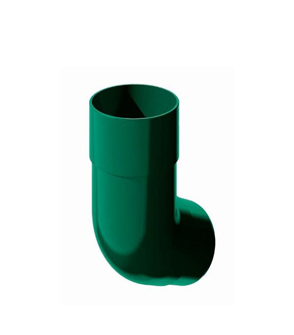Колено трубы пластиковое d90  мм 135° зеленое Технониколь