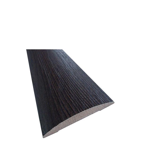 Наличник с 3D покрытием полукруглый в комплекте Седой венге 70х2150х10 мм