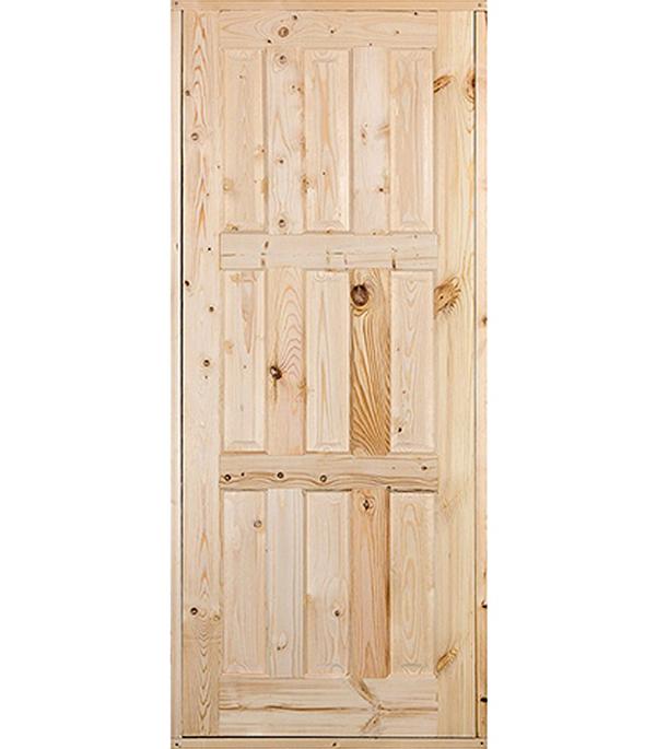 Дверной блок массив ДФГ Ш 21-9 870х2070 мм (3Д ДОЗ)