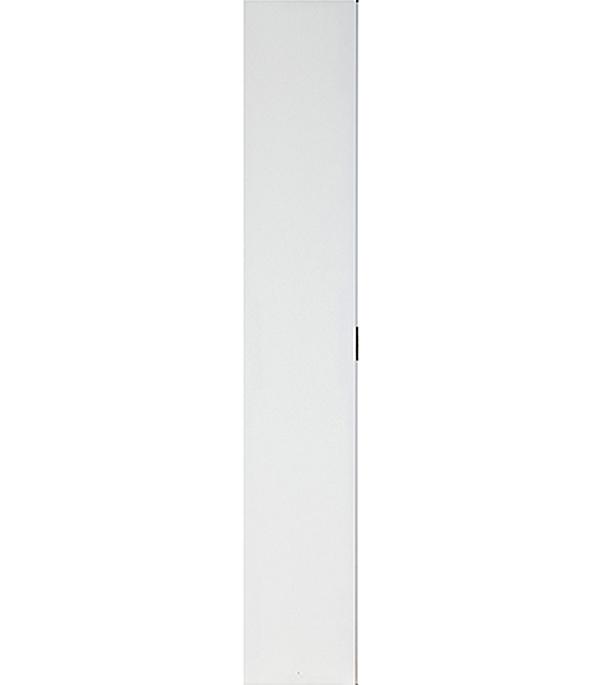 Дверное полотно  Олови белое гладкое глухое ответная часть М3х21 345х2040 мм с притвором
