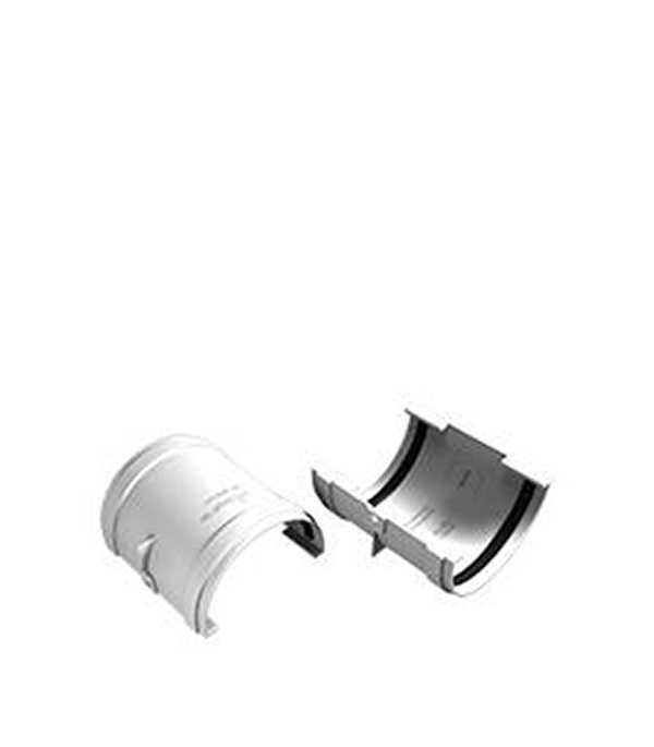 Соединение (муфта) желоба пластиковая белое VINYL-ON