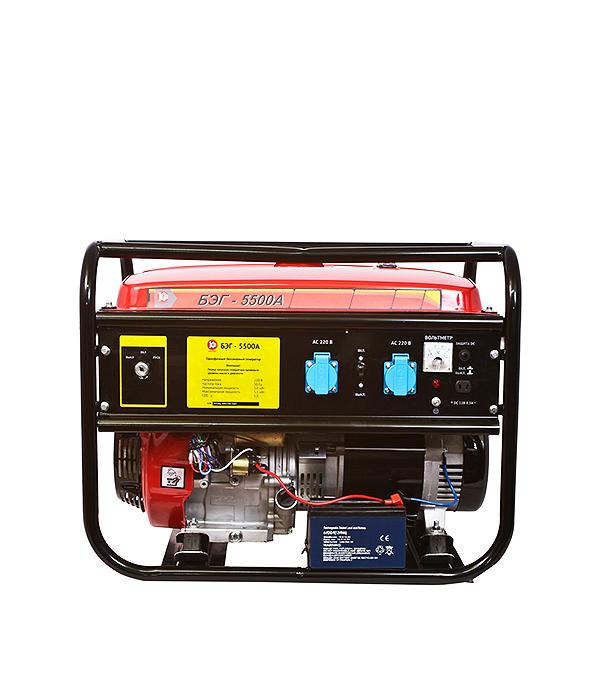 Генератор бензиновый Калибр БЭГ-5500А