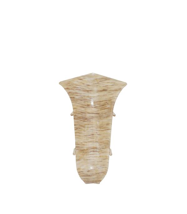 УголвнутреннийWimar 58 ммдубпальмира (2 шт) плинтус пвх royal 76мм дуб светло серый 2 5м