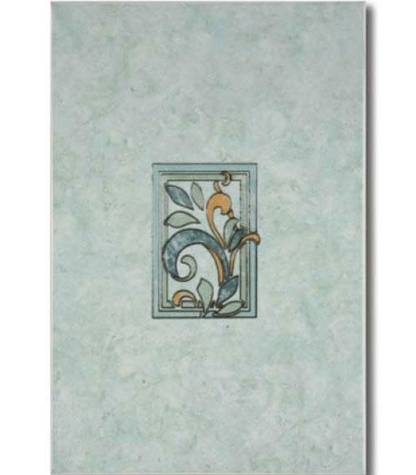 Плитка декор 200х300х7 мм Алтай D зеленый КПП