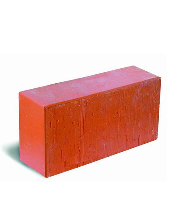 Кирпич лицевой полнотелый красный М300-М500, 250х120х65 мм, РКЗ