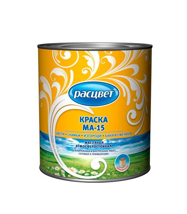 цена на Краска масляная МА-15 белая Расцвет Empils 2,7 кг