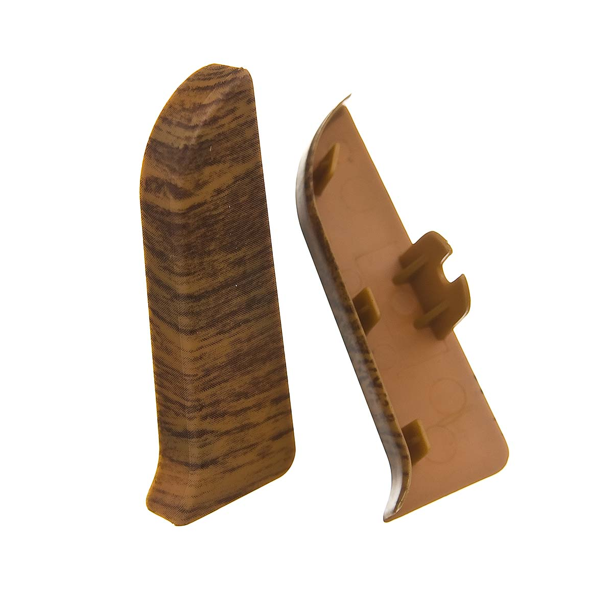 Заглушки торцевые (левая+правая) к плинтусу 68 мм ятоба Nexus