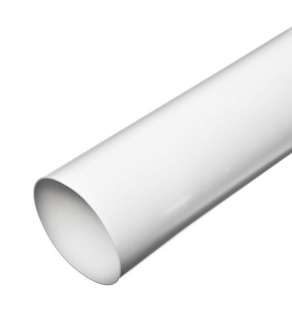 Воздуховод круглый пластиковый d160х500 мм тройник для круглых воздуховодов оцинкованный d125 мм 90°