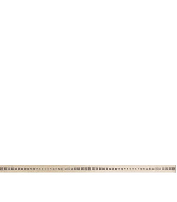 Керамогранит бордюр 25х600х10,5 мм Канны бежевый/Керамика Будущего