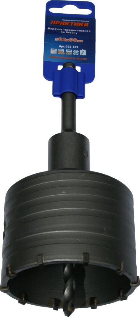 Коронка по бетону 82 мм SDS-plus (адаптор+сверло) Стандарт