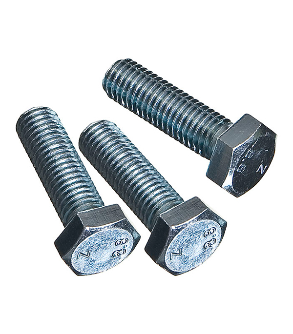 Болты оцинкованные М12х40 мм DIN 933 (15 шт) болты сантехнические оцинкованные 6х70 мм din 571 40 шт