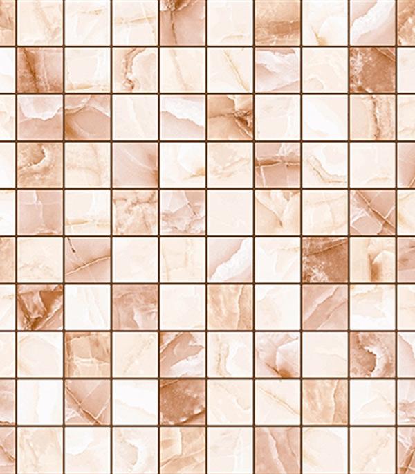 Керамогранит 300х300х7 мм Орнелла фон коричневый / LB (15 шт. = 1,35 кв.м)