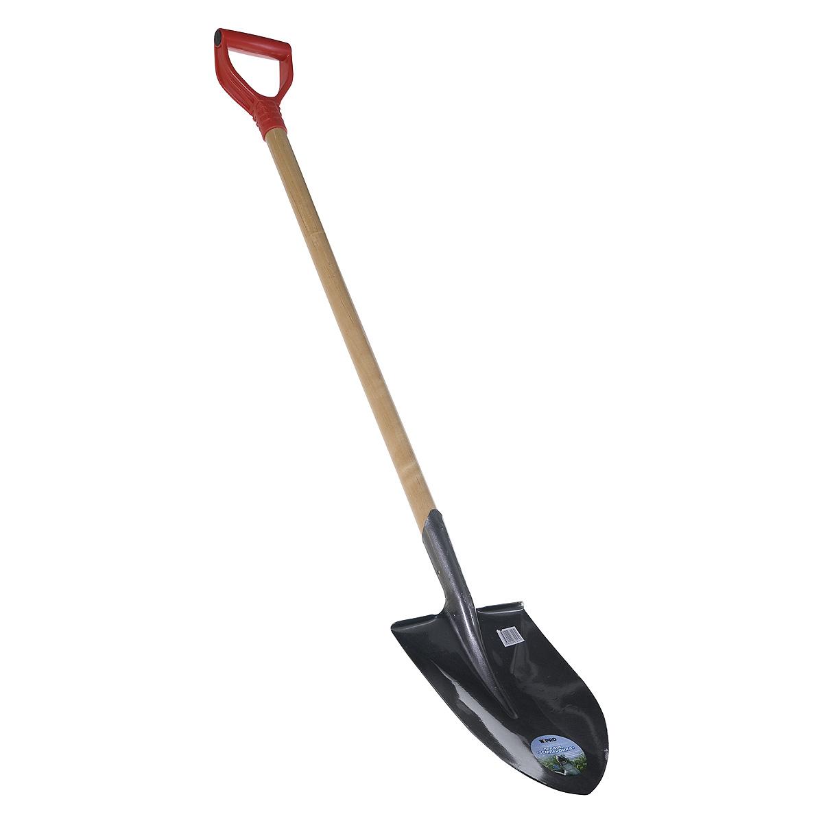 Лопата  штыковая с черенком (125 см) Землеройка