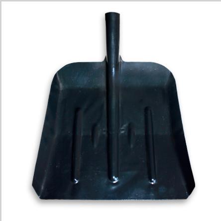 Лопата снеговая металлическая без черенка 310х330мм