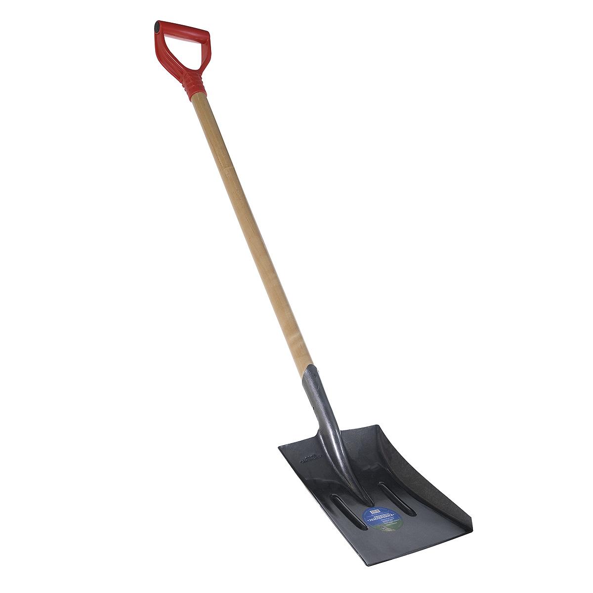 Лопата совковая с черенком (122 см) Землеройка