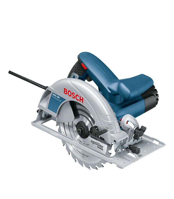 Пила дисковая Bosch GKS 190 диск шлифовальный с липучкой р40 d 125 мм 5 шт перфорированный bosch профи