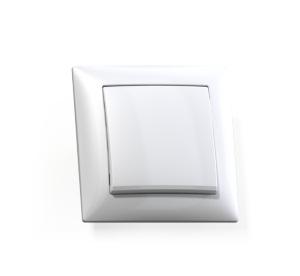 Выключатель Селена с/у 1-кл. белый, 250В 10А