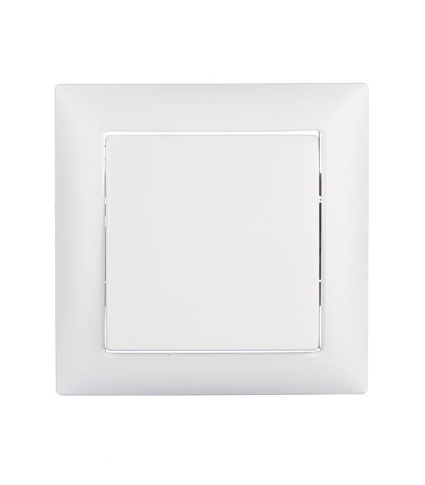 Выключатель одноклавишный Селена с/у белый 250В 10А выключатель двухклавишный наружный бежевый 10а quteo