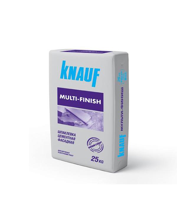 Шпаклевка цементная фасадная Knauf Мультифиниш 25 кг штукатурка knauf унтерпутц цементная фасадная 25кг