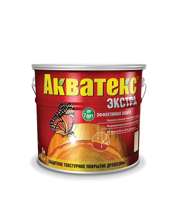 Антисептик Акватекс Экстра бесцветный Рогнеда 3 л