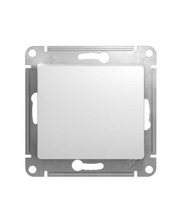 Механизм выключателя oдноклавишного с/у Schneider Electric Glossa белый