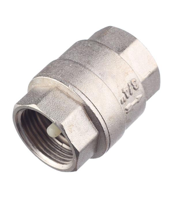 Клапан обратный  3/4 внутр(г) Valtec аквалого aqualogo клапан обратный для компрессора 3 шт