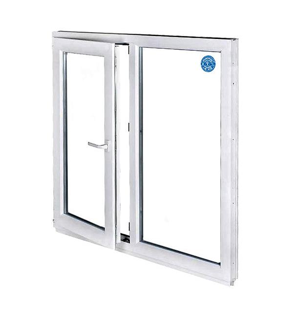 Окно металлопластиковое белое 1440х1160 мм 1 створка поворотно-откидное левое