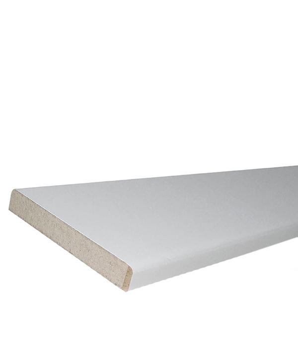 Доборная планка эмалевыя Белая 130х2100х12 мм