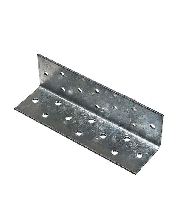 Уголок соединительный оцинкованный  40х40х140х2 мм