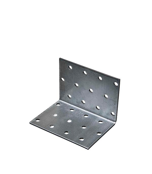 Уголок соединительный оцинкованный  60х60х80х2 мм