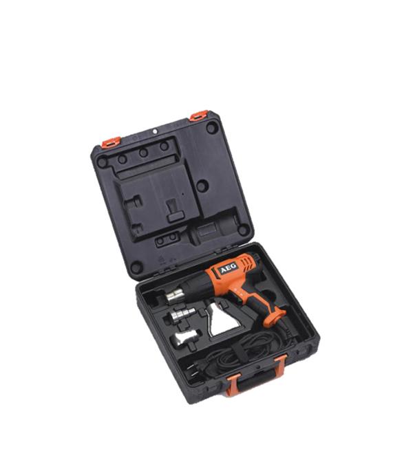 Фен строительный HG600VK, 2000 Вт, AEG  фен строительный fhg20001 2000 вт fixtec