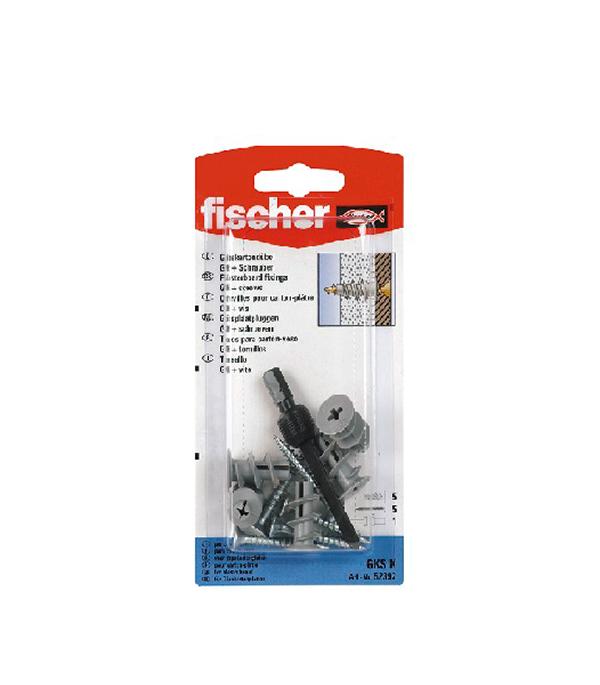 Дюбель для листовых материалов GK с шурупом (5 шт.) нейлон Fischer