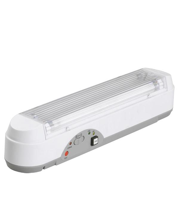 Светильник аварийный с аккумулятором на 3 ч.,с лампам 2х8 Вт (T5), IP20, ИЭК, ЛБА-3923
