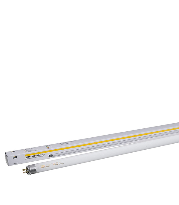 Лампа люминесцентная 13W/6400К (холодный свет), d16 (Т5), G5, 517 мм, ИЭК