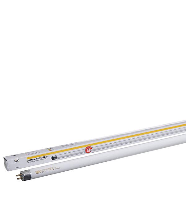 Люминесцентная лампа IEK 28W/6400К холодный свет d16 Т5 G5 1149 мм александр тамоников холодный свет луны