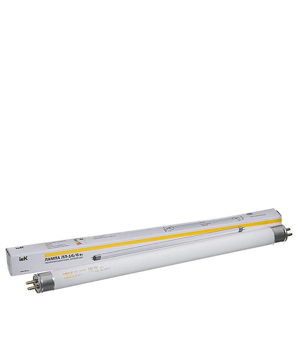 Лампа люминесцентная  6W/6400К (холодный свет), d16 (Т5), G5, 212 мм, ИЭК