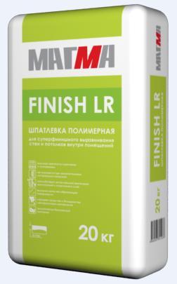 Магма Финиш ЛР белая (полимерная шпатлевка для сухих помещений), 20 кг