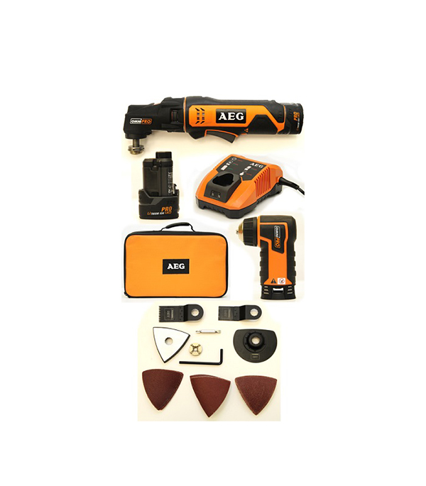 Резак аккумуляторный OMNI12C LI-152BKIT2 12В Li-Ion 1,5 Ач, AEG цена 2017