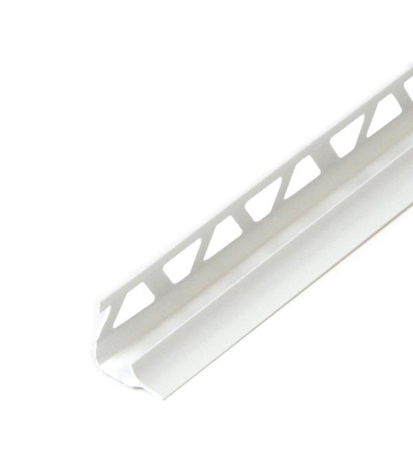 Раскладка внутренняя под плитку 10х2500 мм Белая